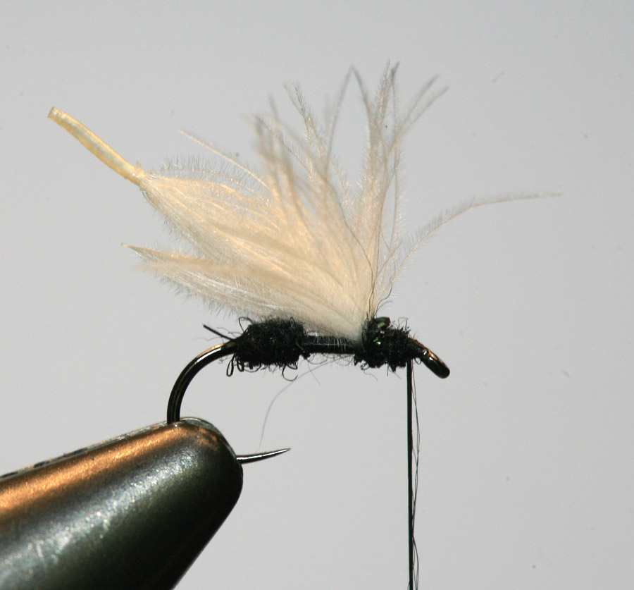 Olive Med Fly Tying Spirit River CDC Puffs