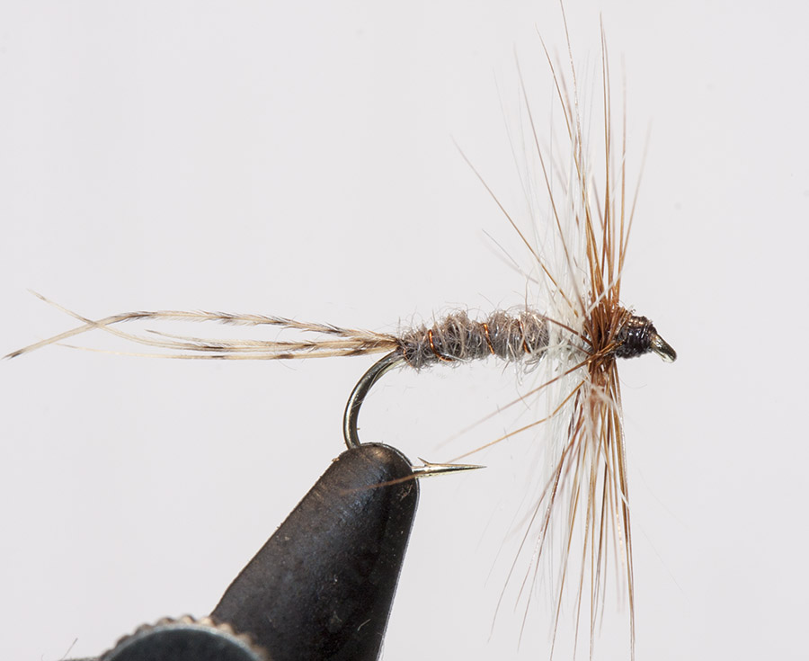 Oliver Kite Mayfly lighter tail fibres