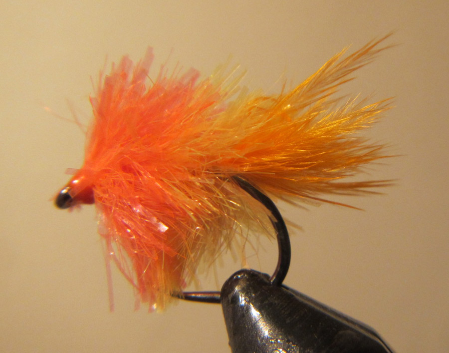 Size 10 Trout Flies Zonkers For Fly Fishing 6 Pack White Booby Zonkers