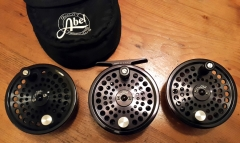 Abel TR2 and two extra spools offered for sale