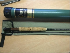 Orvis Clearwater fly rod, British reels and spare spools offered -