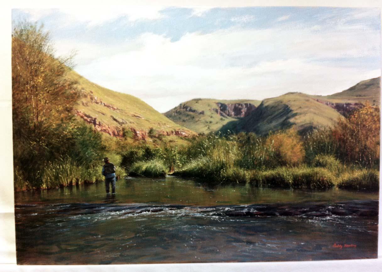 Omaž ribolovcu i ribolovu - Page 2 Paddy_Starling_fly_fishing_art