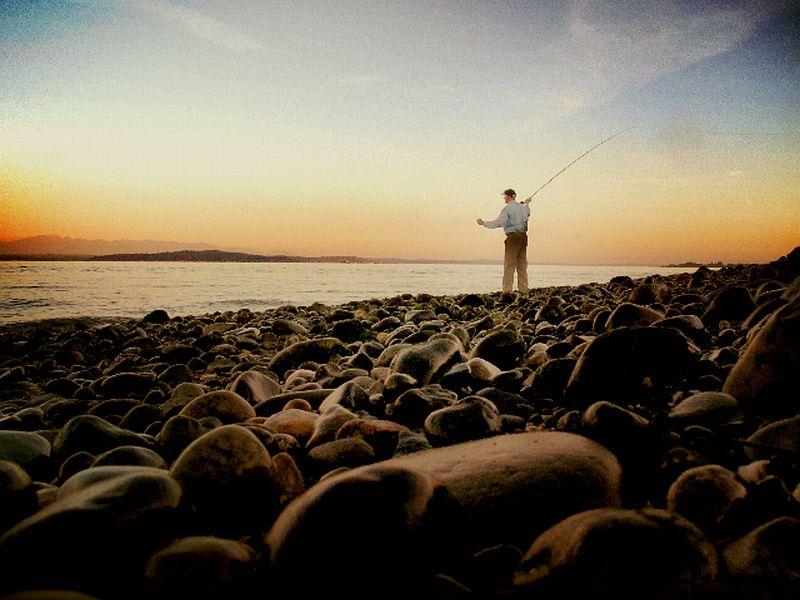 Seattle and the sage rod company tomsutcliffe the for Fishing puget sound