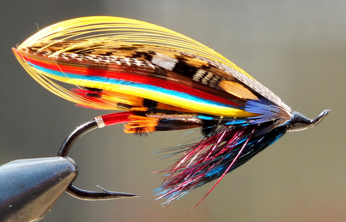 Lessons from salmon fly tyers tomsutcliffe the spirit for Fly fishing classes near me