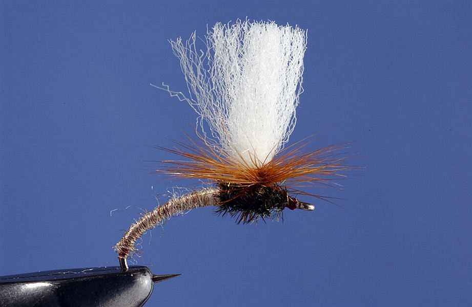 6 #16 Thorax Dun Adams Dry Flies Fly Dries Half Dozen